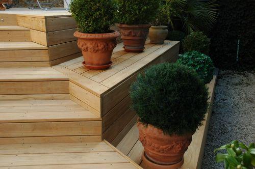 terrasse en ipé sur escalier Terrasse Pinterest Escaliers