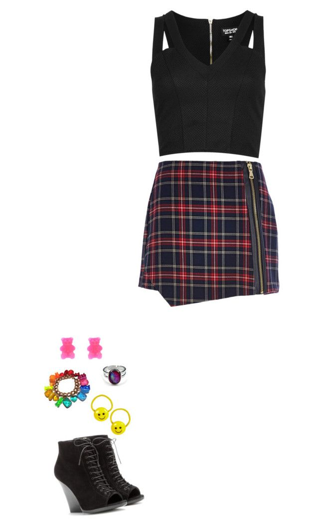 """""""0168. 5. she gets in trouble for eating candy in class"""" by hiimmichelle on Polyvore featuring Topshop, River Island, Burberry, Hard Candy and ELSE"""