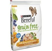Purina Beneful Grain Free With Farm Raised Chicken Dog Food 12 5
