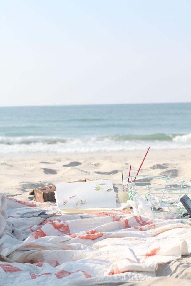 A perfect beach set up.