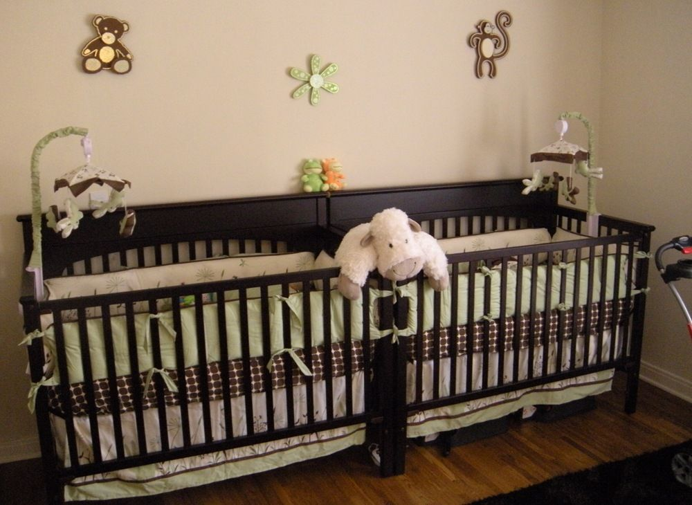 Сribs For Twins | Pinterest | Wood furniture, Diy baby and Crib