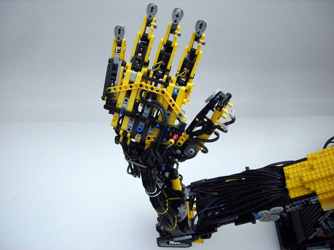 When Max Shepherd was about 10, he saw a robot arm on Lego's mindstorms.com. It inspired him to build his own