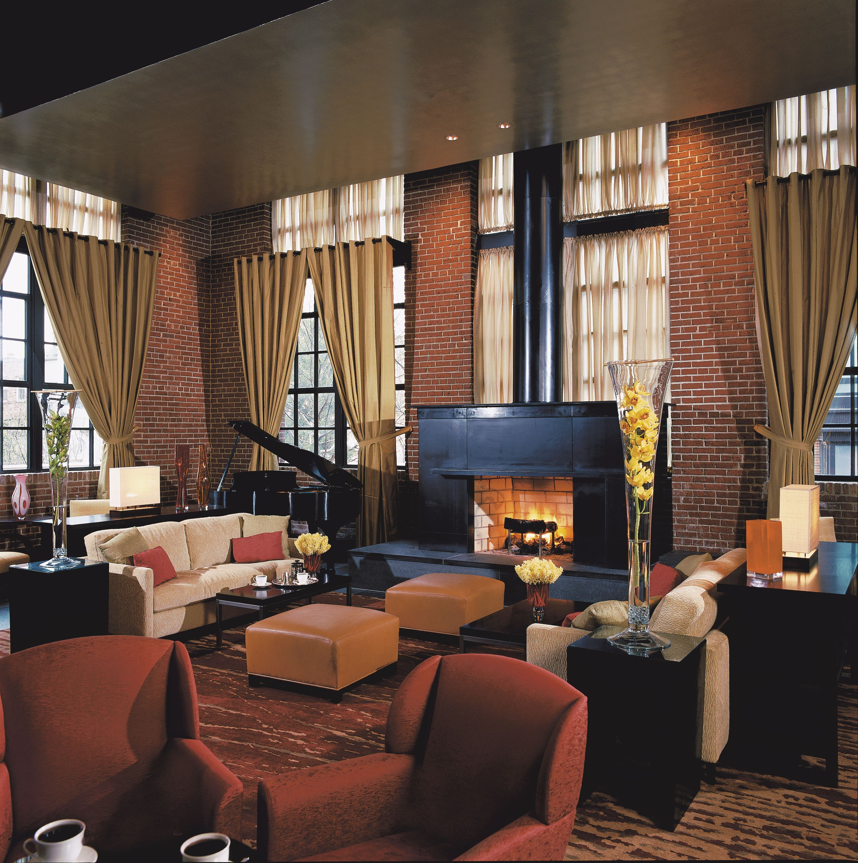 Most Romantic Hotel Fireplaces Ritz Carlton Hotel Dc Hotel