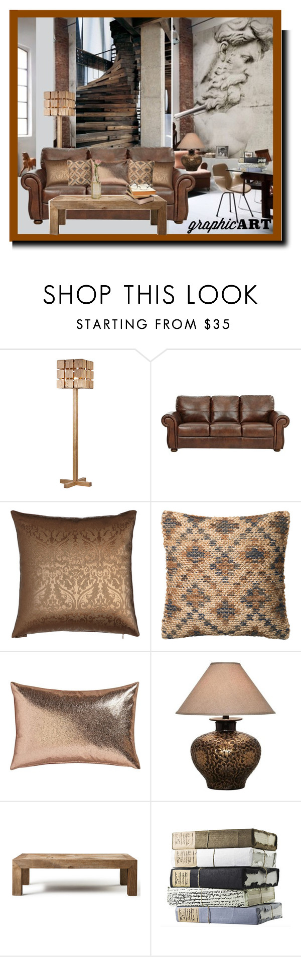 """""""Senza titolo #948"""" by barbara-gennari ❤ liked on Polyvore featuring interior, interiors, interior design, home, home decor, interior decorating, Loloi Rugs, CB2, Flamant and Cultural Intrigue"""