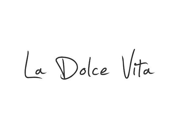 La Dolce Vita Completely Customizable In Colors Of Your Choice Italian Quote Tattoos Italian Quotes French Quotes