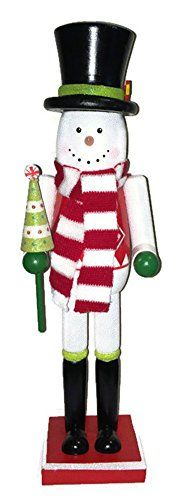 Decorative Snowman Nutcracker 15 *** This is an Amazon Affiliate link. Read more at the image link.