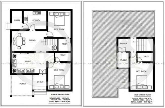 Low Bud 3 Bedroom Modern Home Plan in Kerala 2017 New Home