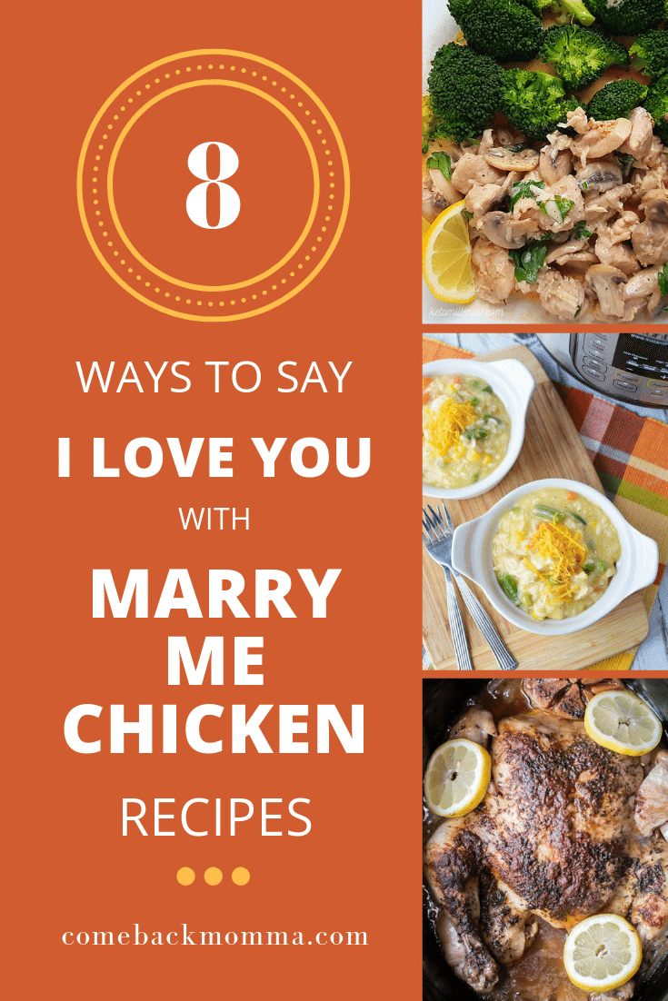 Marry Me Chicken May be the Way to His/Her Heart #marrymechicken