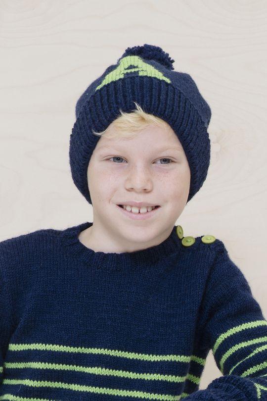 Lapsen myssy Novita 7 Veljestä | Novita knits