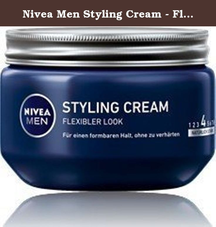 Nivea Men Styling Cream Flexible Look Hair Paste Gel 150ml 150ml Made In Germany Gives Hair A Flexible Look Styling Cream Hair Paste Hair Gel