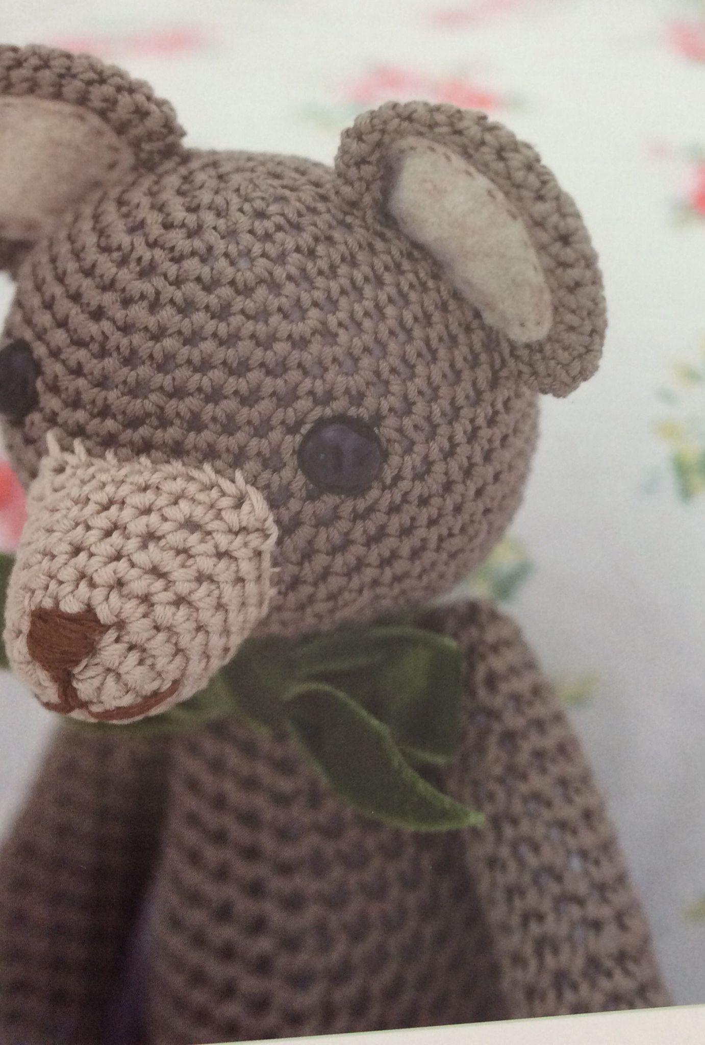 crochet teddy bear x