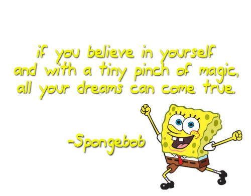 spongebob always says it best | My Favorites!! | Spongebob, Quotes