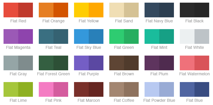 Chameleon – A Lightweight Powerful Flat Color Framework for iOS