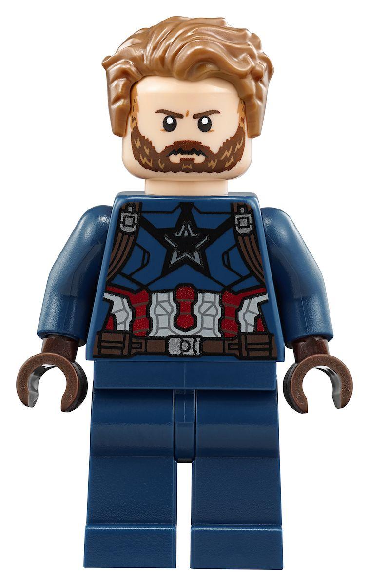 Lego Captain America Colorear Infinity War