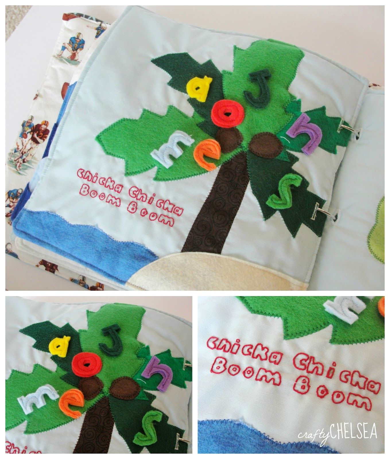 Books on felt crafts - Life With My Littles Little J S Quiet Book Aka The 100 Hour Quiet Book