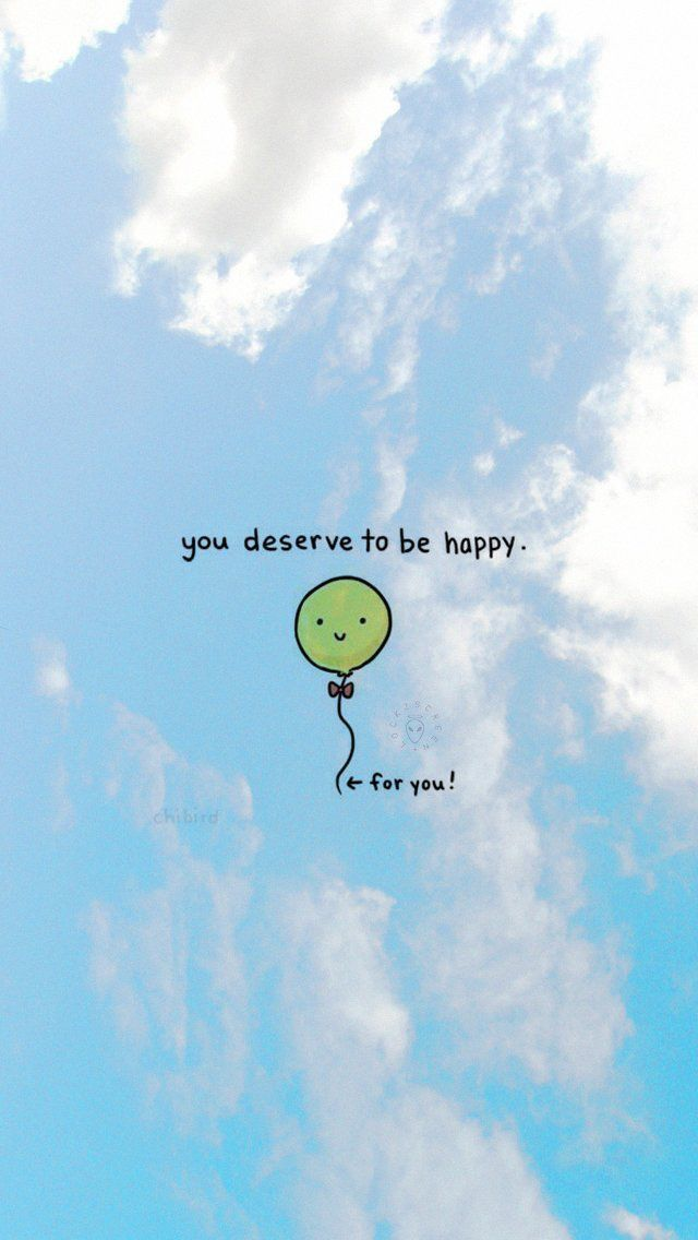 kau pantas untuk bahagia motivasi kutipan motivasi ilustrasi lucu