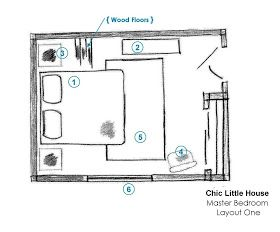 Chic Little House Master Bedroom Layout Ideas Master Bedroom Layout Small Bedroom Layout Small Master Bedroom Layout