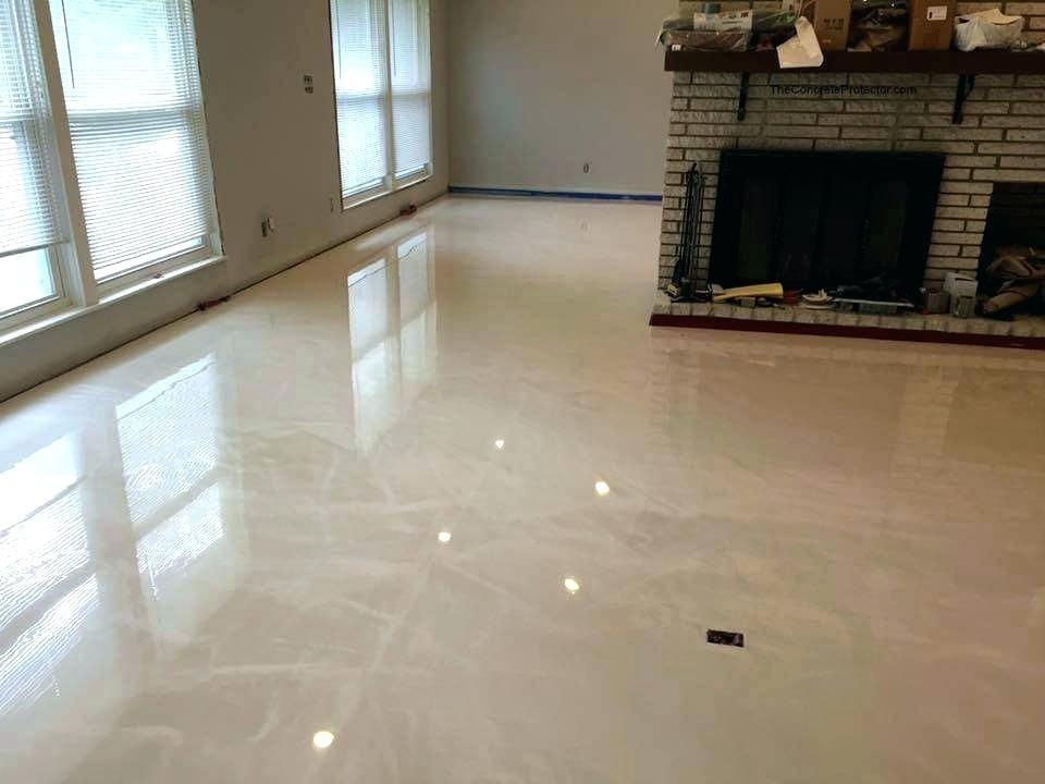 Epoxy Floor Basement Gray White Epoxy Metallic Floor Epoxy Residences De Luxe
