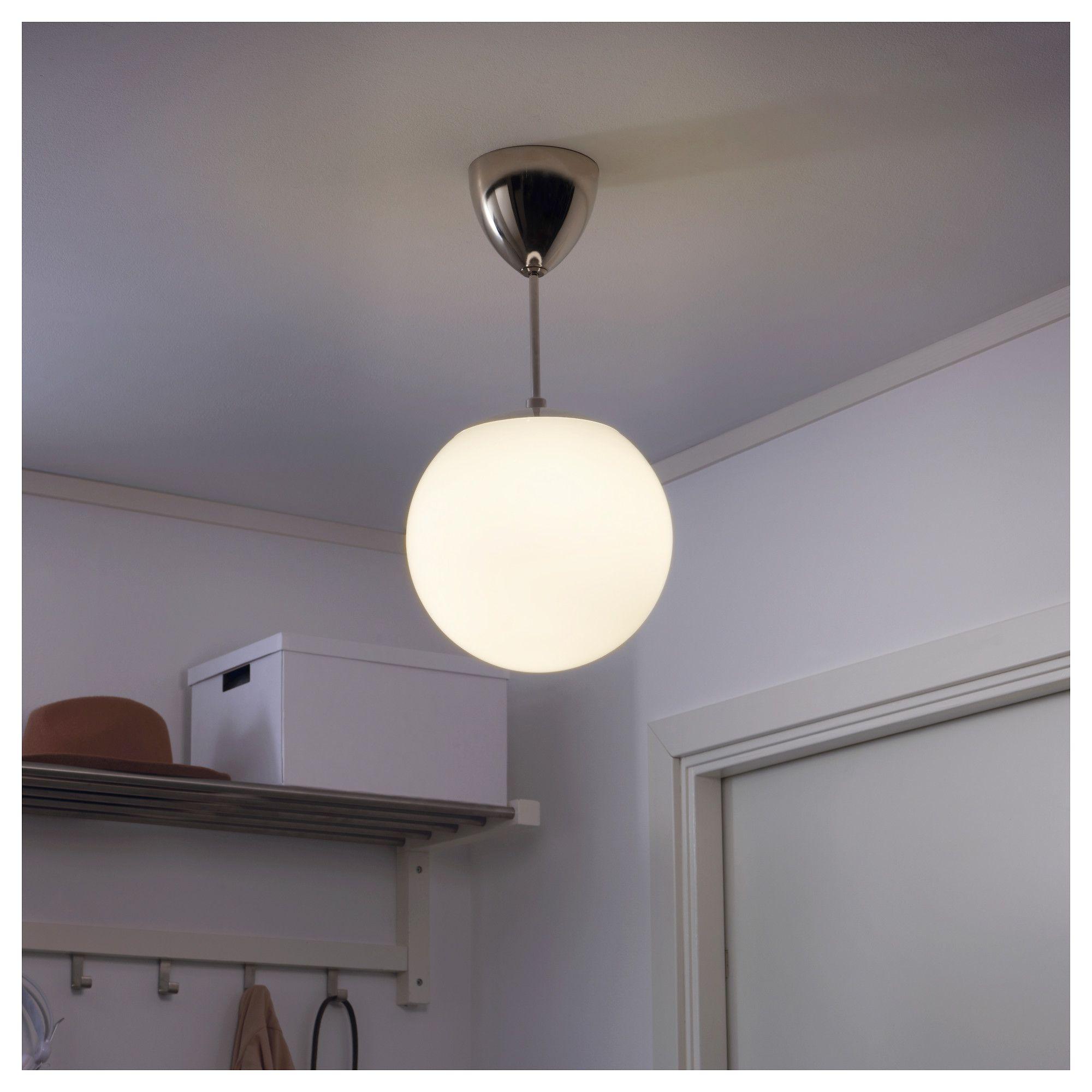 HÖLJES white, Pendant downlighter IKEA in 2020 Ikea