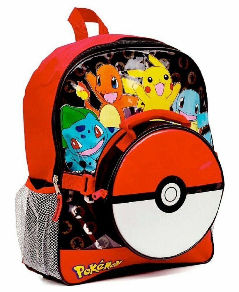 Pokemon Personalised Childs School Bag Backpack Rucksack Kids