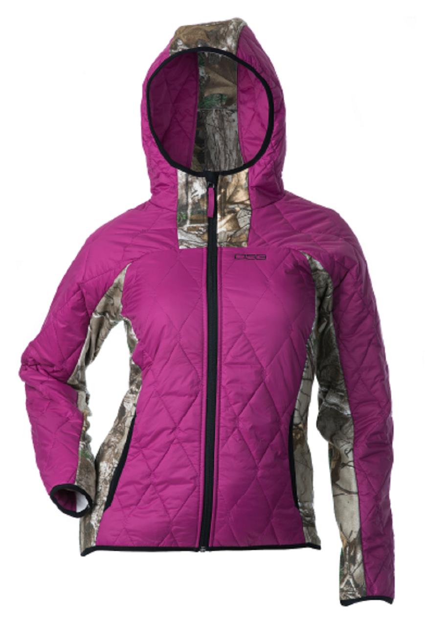 16e69d0fbaf5d Fleece Jacket - Realtree Xtra Berry