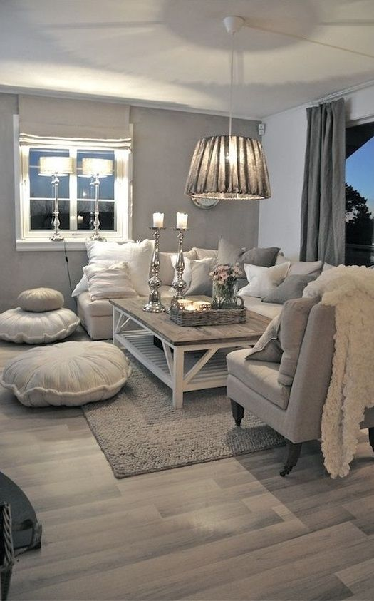 Light Gray Indoor Wood Vinyl Floor Living Room Inspiration Chic