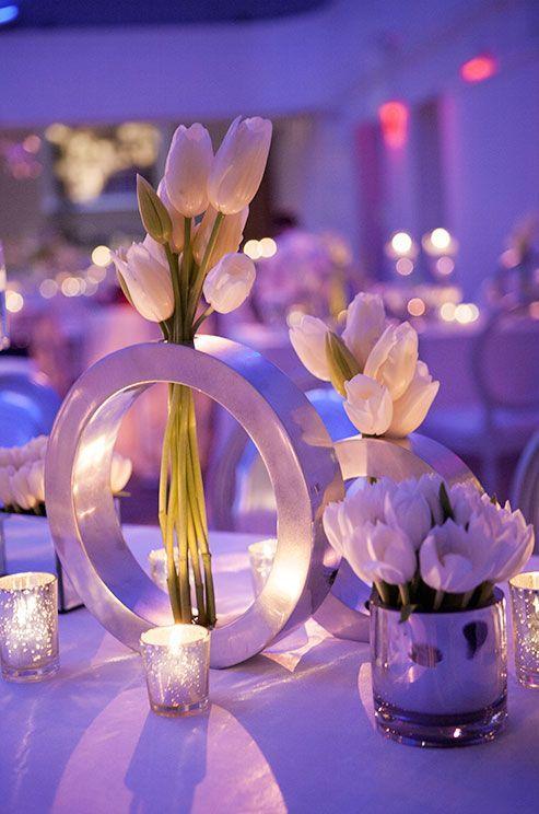A Wonderfully Elegant Modern Wedding Theme Wedding Decor Tips