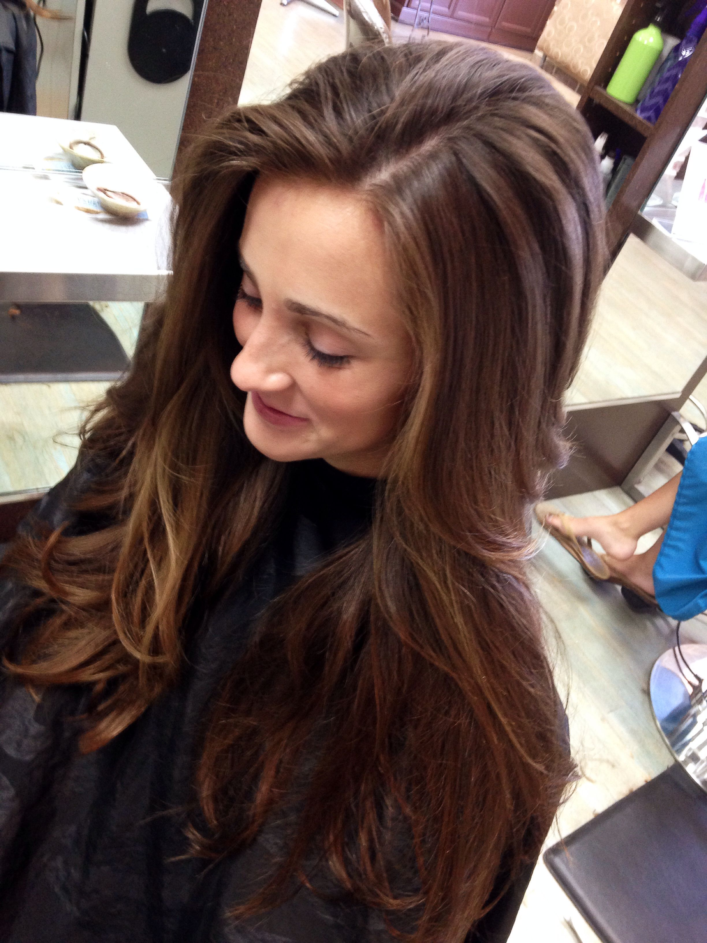 Long Layers In Long Long Hair Hairstylist Jennifer Ballard