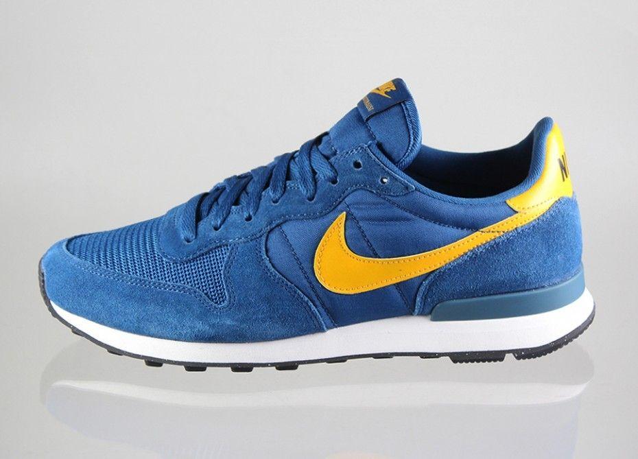 Zapatillas Hombre Nike Internationalist Og 631754 406 Azul Amarillo Nike Internationalist Sneakers Nike