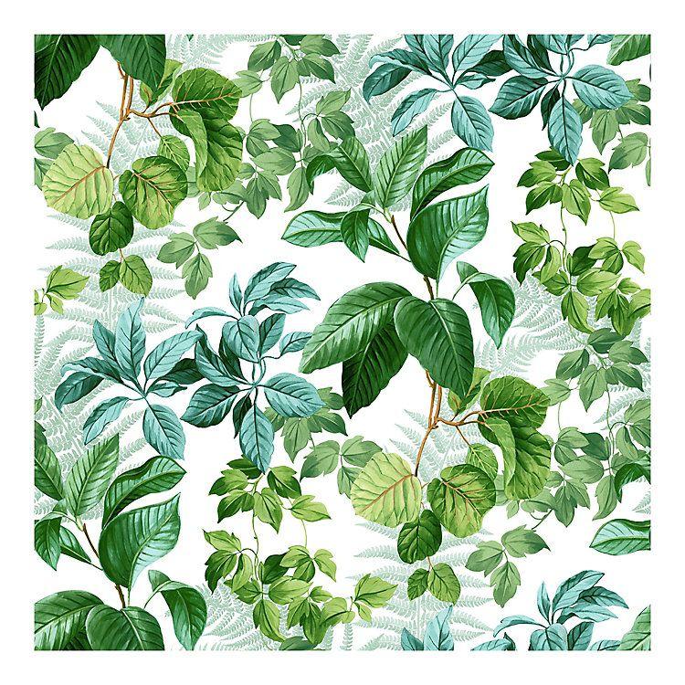 Roommates Rainforest Leaves Peel Stick Wallpaper Leaf Wallpaper Peel And Stick Wallpaper Vinyl Wallpaper
