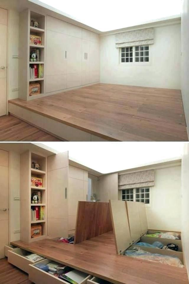 Tiny House Space Saving Ideas Tiny House Space Saving Ideas Probably One With A Small House And No Storage Space Tiny Tiny House Sp Home Small Spaces New Homes
