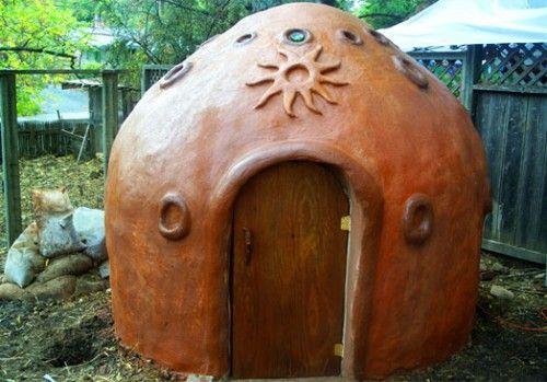 Cob sauna bioconstrucci n reciclaje bioconstruction - Construccion de saunas ...