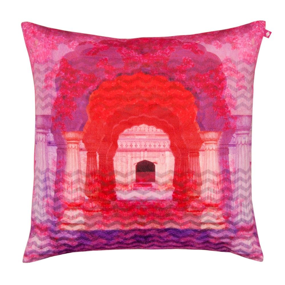 Doorway to heaven poly velvet cushion cover h o m e w a r e s