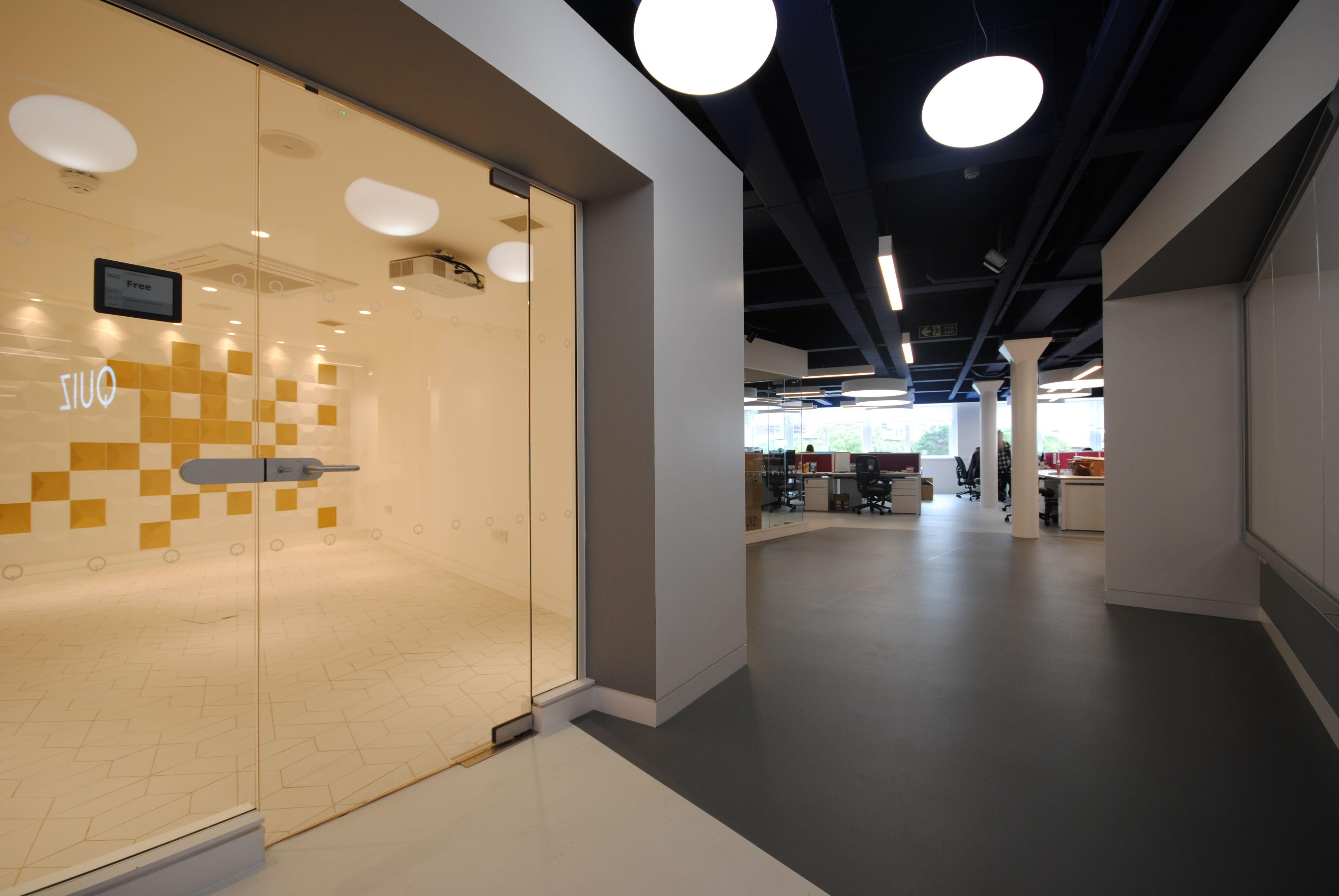 Quiz head office inrterior design glasgow architecture our work