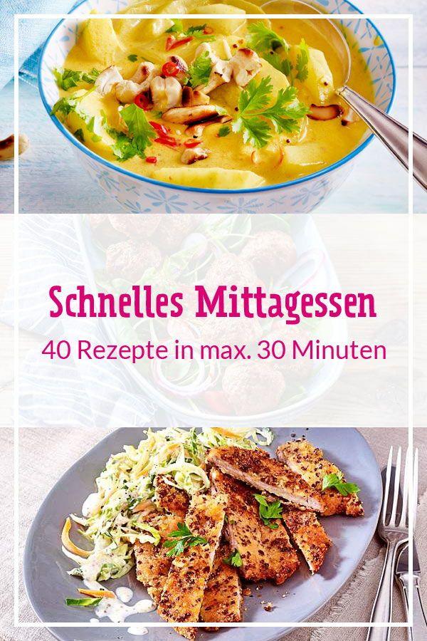 Photo of Schnelles Mittagessen – in 30 Minuten fertig! | LECKER