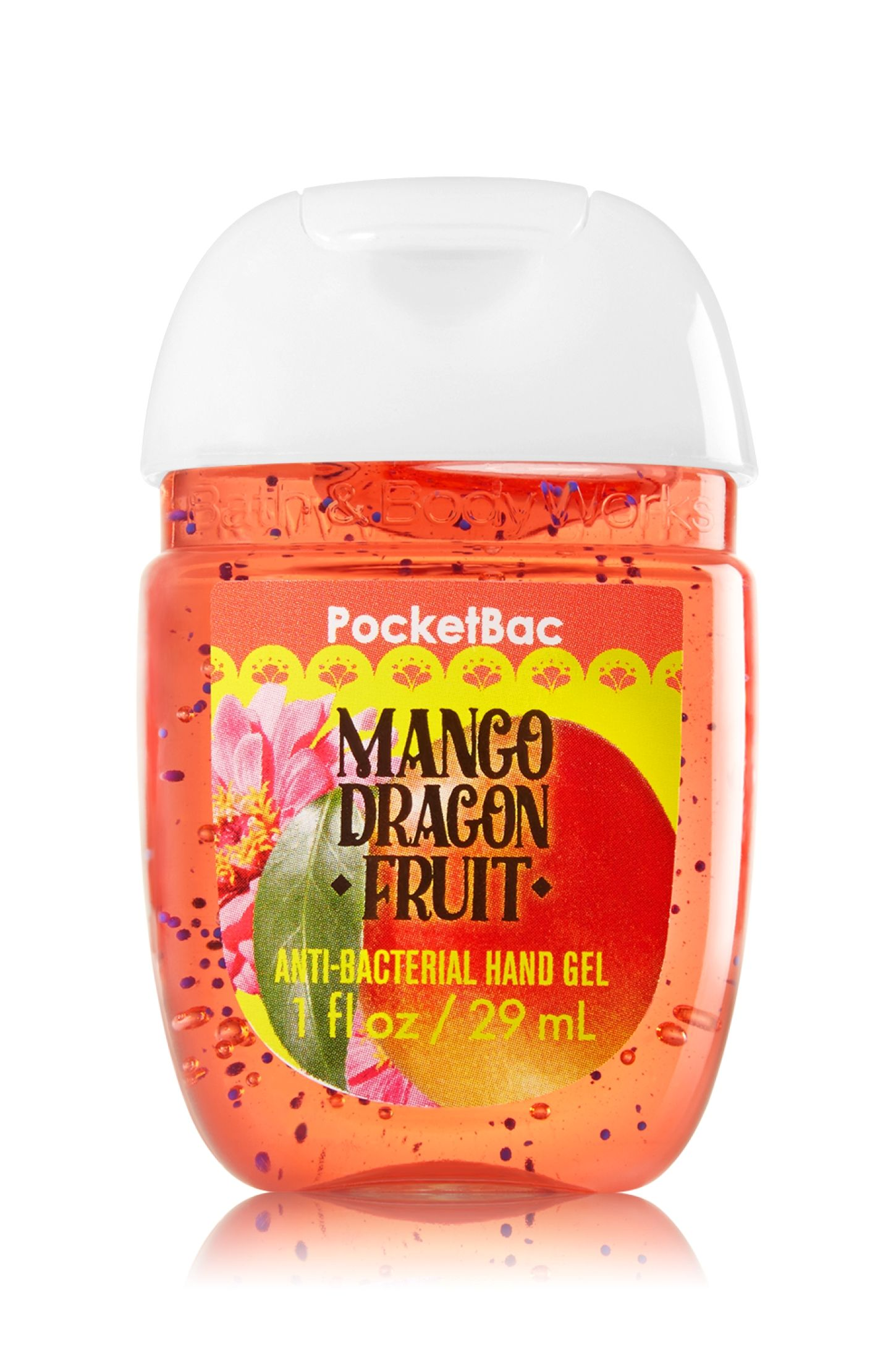 Bath Body Works Mango Dragon Fruit Pocketbac Sanitizing Hand Gel