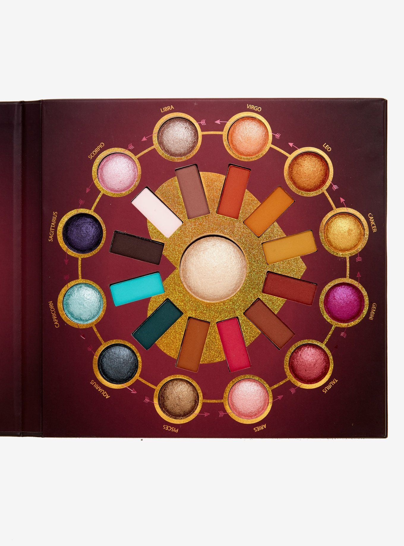 BH Cosmetics Zodiac Love Signs 25 Color Eyeshadow