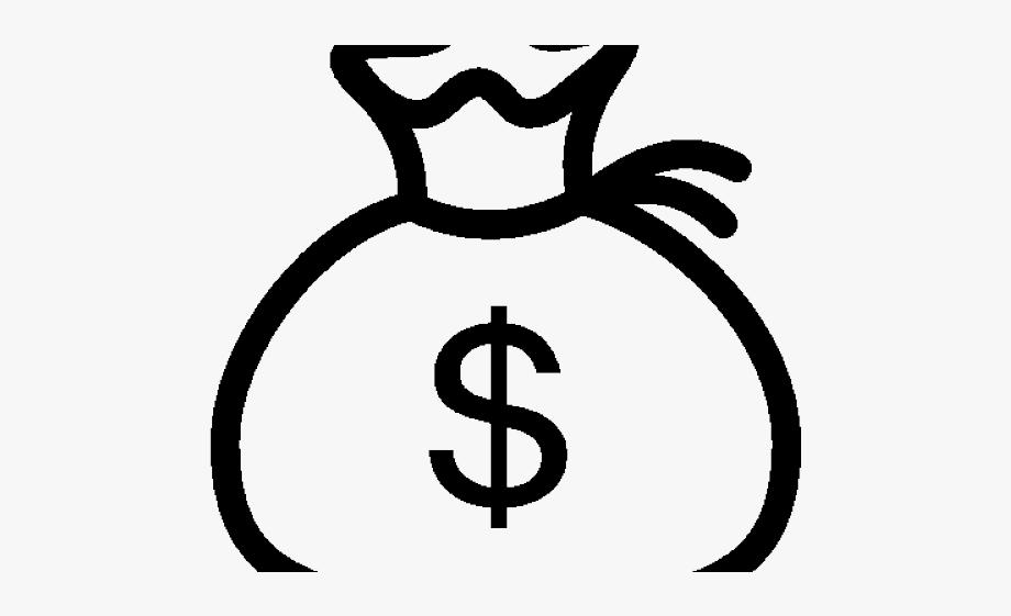 Money Bag Drawing Easy Drawing Bag Easy Drawings Money Bag