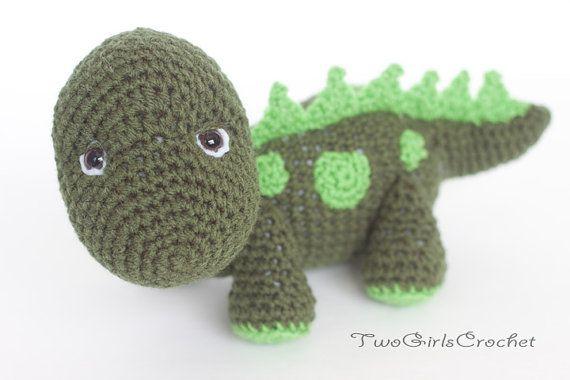 amigurumi-dinosauro
