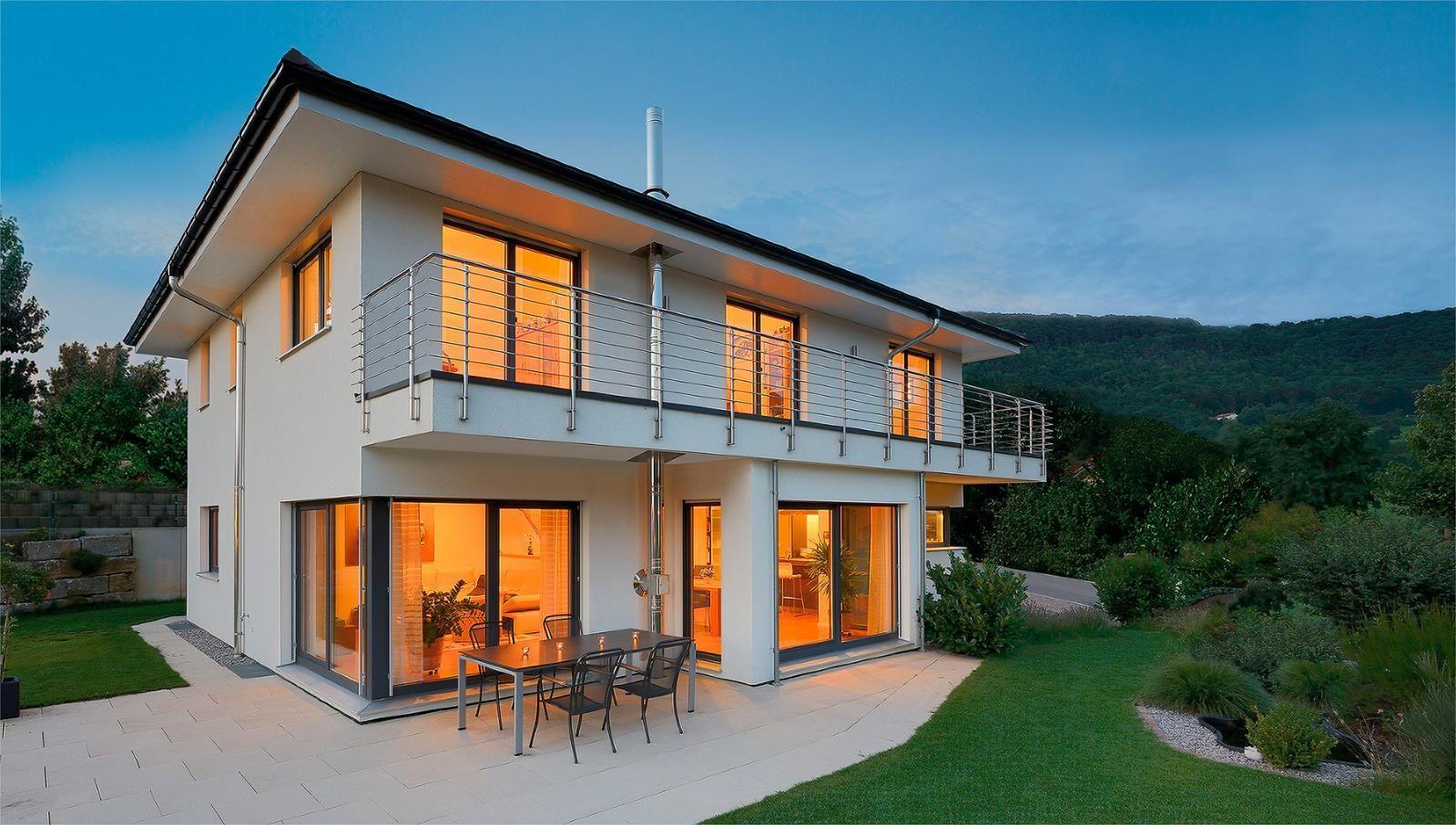 Erdgeschoss haus front design haus rabe  haus  pinterest