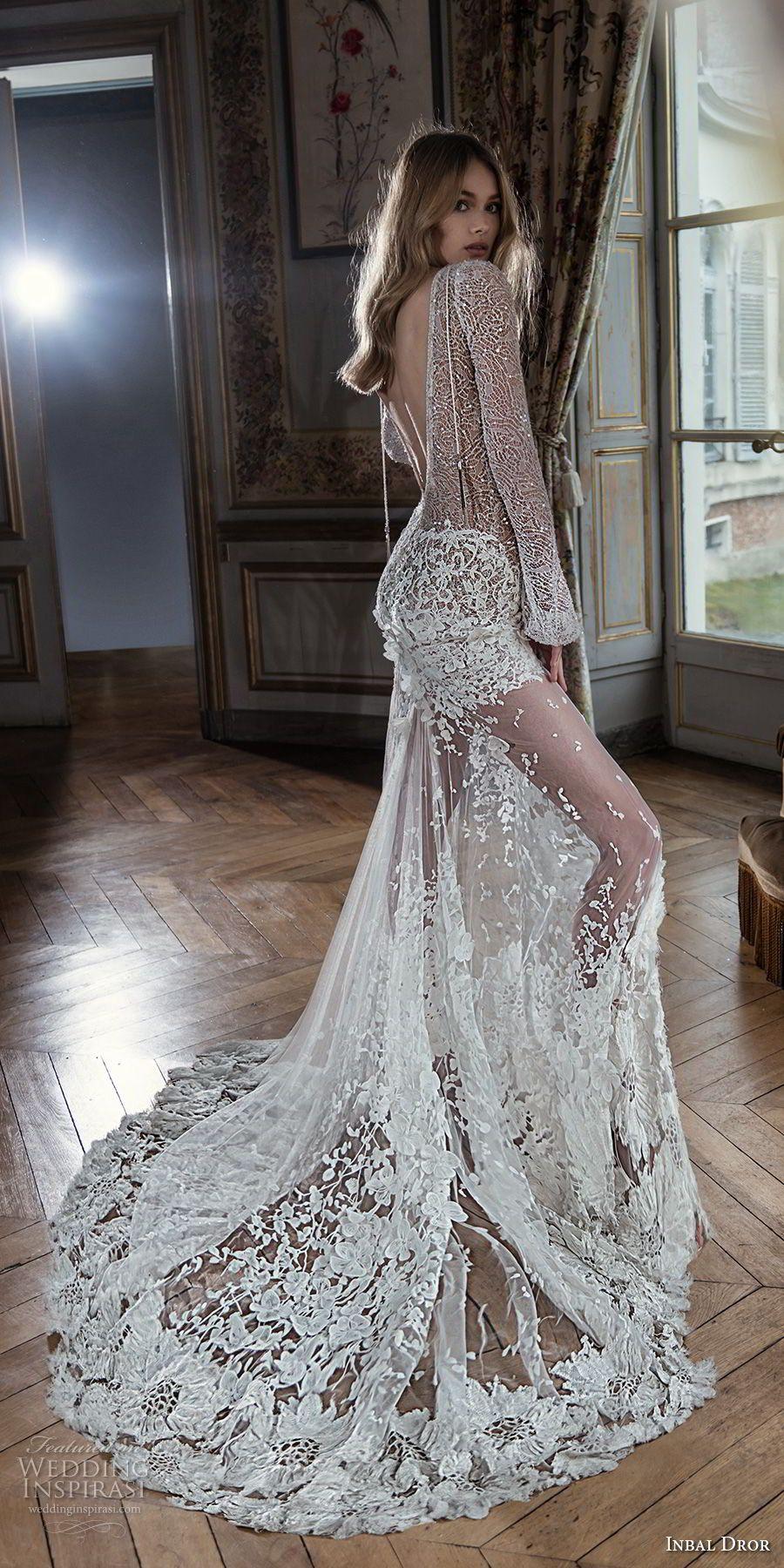 Inbal Dror Fall 2018 Wedding Dresses Lookbook Wedding Inspirasi Perfect Wedding Dress Beautiful Wedding Dresses Vintage Wedding Dress Romantic