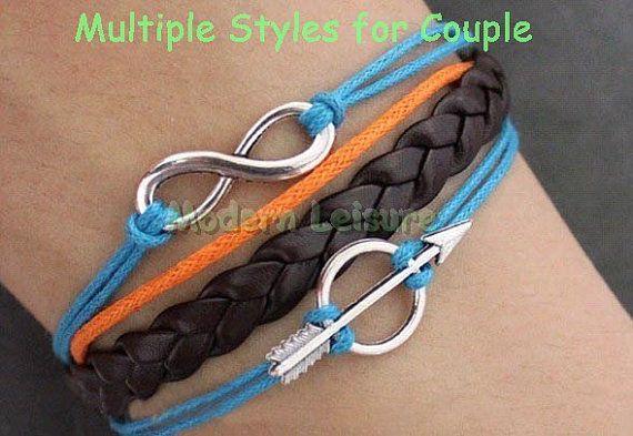 Infinity Bracelet Infinity Jewlery Multiple by ModernLeisure, $5.99