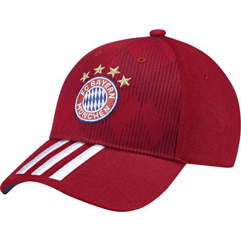 01a2b55d9d6 Adidas FC Bayern München 3-Stripes pet heren FCB true red white collegiate  navy