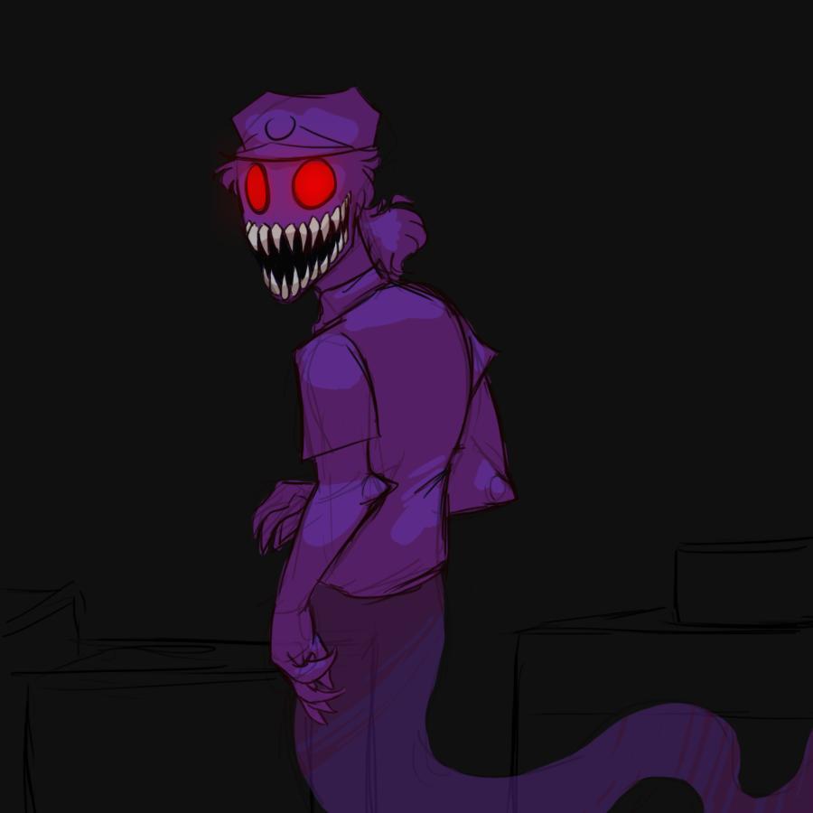 Ghostly Purple Guy