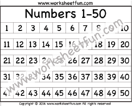 picture relating to Printable Numbers 1 50 known as figures 1-50 chart Math worksheets Variety chart, Absolutely free