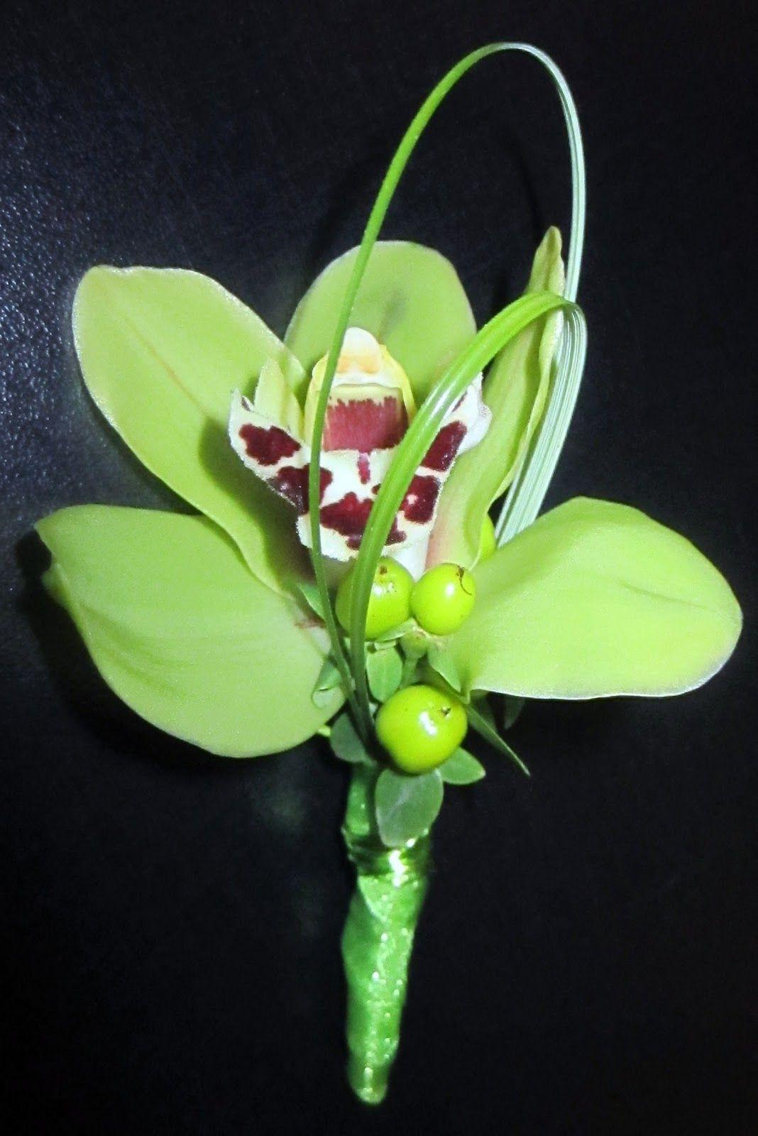 Букеты из мини орхидей, букет для