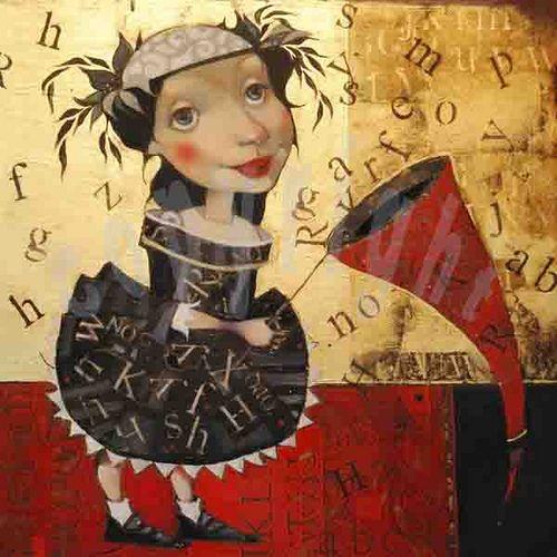 ''Lettercatcher'' Olga Sugden