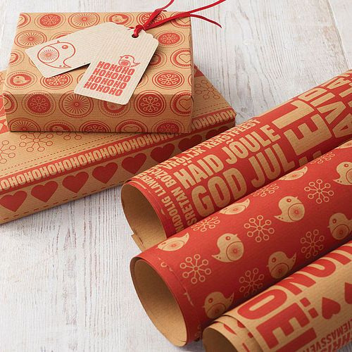 Christmas Wrapping Paper Set