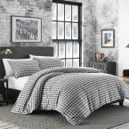 Photo of Eddie Bauer Preston 2-Piece Grey Twin Comforter Set 223749 – The Home Depot