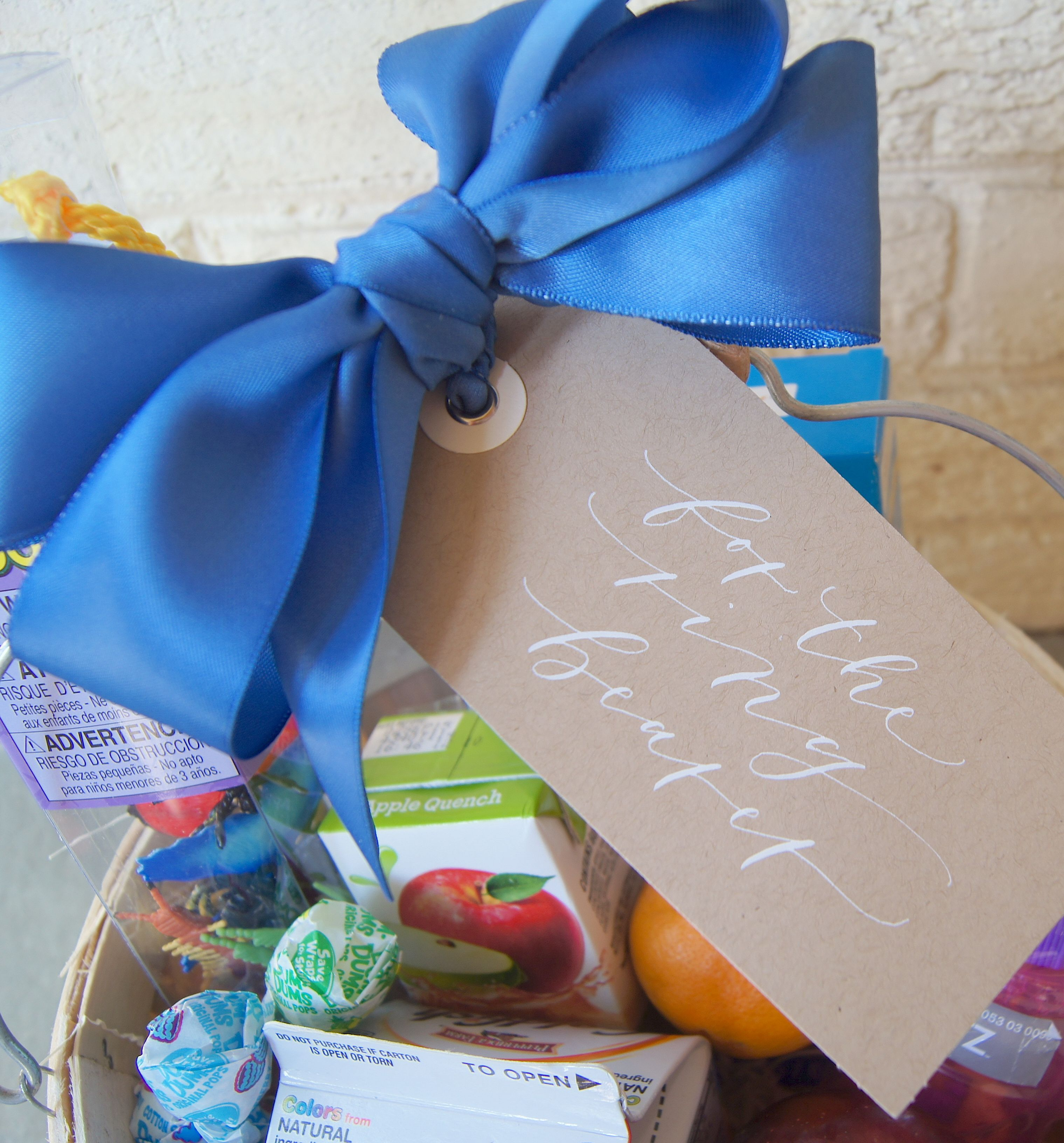 Gift design by flower girl ring